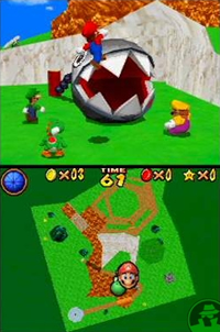 super mario bross 64 x 4